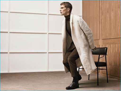 Zara calls on Danish model Mathias Lauridsen for a new fall editorial. Unveiling its new Studio collection, the Spanish brand brings together an array of irresistible neutrals. A stylish vision, Mathias embodies the ease of a creative soul as he poses for pictures in voluminous coats, chic turtlenecks, and trim trousers. Taking to a modern...[ReadMore]