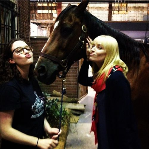 Beth Behrs real instagram