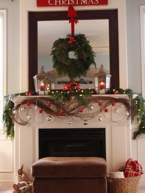 Fireplace Mantel Decorating Ideas Houzz Regarding Stylish