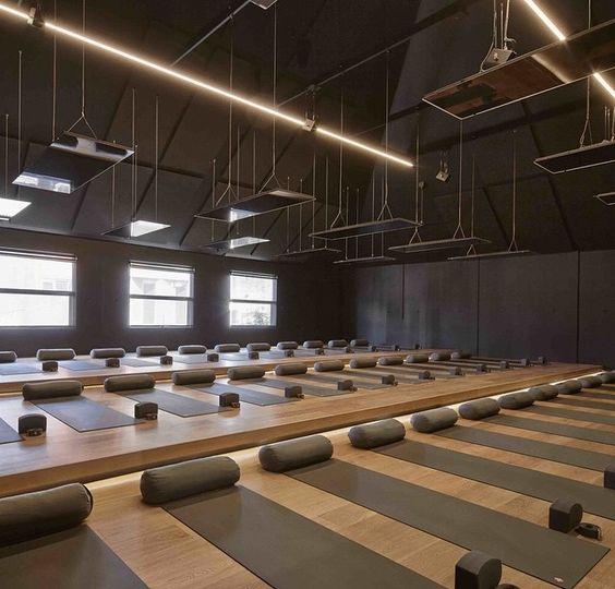 Yoga Studio Lighting Ideas: Yoga Studios, Melbourne And Studios On Pinterest