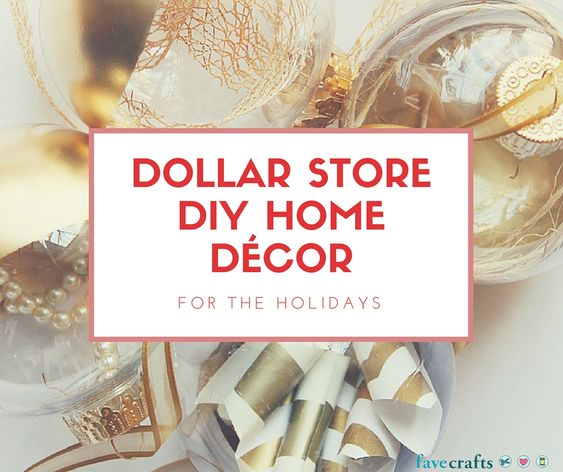 Dollar Store Diy Home D Cor For The Holidays Crafts Home And Diy Home Decor