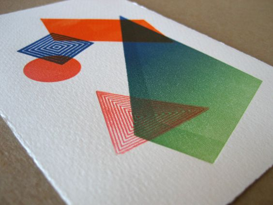 Astounded by the ombre/rainbow roll!  This is letterpress, how?!