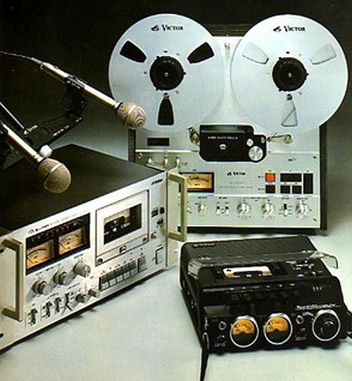 Cassette JVC Reel to Reel Silver