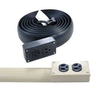Good For Under Rugs Flat Electrical Power Extension Cord