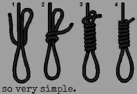 Como hacer una cuerda para aorcarte