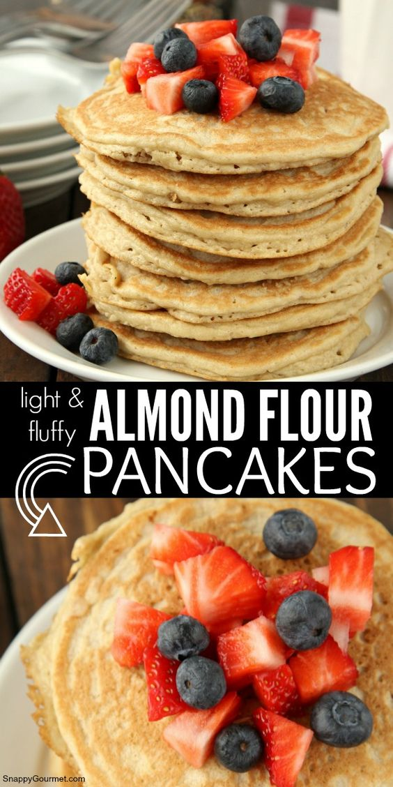 ALMOND FLOUR PANCAKES - keto freezer meals