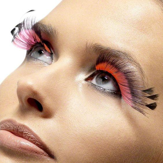 Faux Cils Plumes Roses Makeup Designs Pinterest Roses