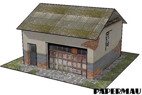 PAPERMAU: Some New Architectural Paper Models For Dioramas, RPG And Wargames - by Papermau - Download Next Week!
