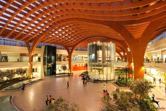 Shopping Iguatemi Fortaleza (Finalizado) | Carpinteria Estruturas de Madeira