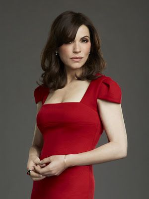 Alicia Florrick - The Good Wife. Can I please be as fabulous as her once I become an attorney?:-)