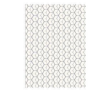 Pôster Hexagon - 30X40cm