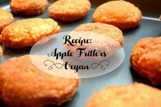 Best apple fritter recipe ever! VEGAN #vegan #applefritters #recipe #baking #veganbaking #veganapplefritters