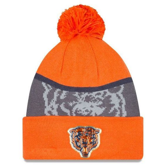 Men's Chicago Bears New Era Navy/Graphite Gold Collection Classic ...