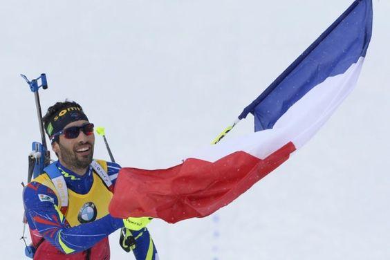 Biathlon : troisième titre mondial pour Martin Fourcade