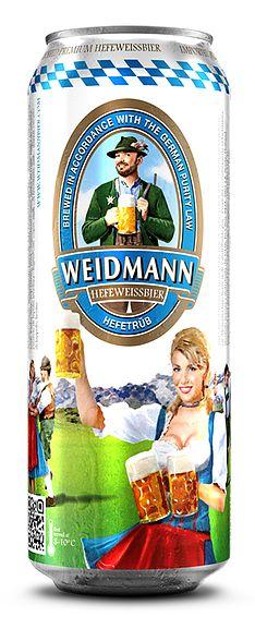 Bia Weidmann Weissbier Hefeweizen Hefetrun