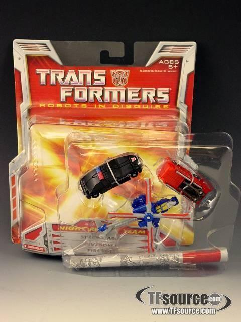 Transformers Classics Night Rescue Mini-con Team Complete