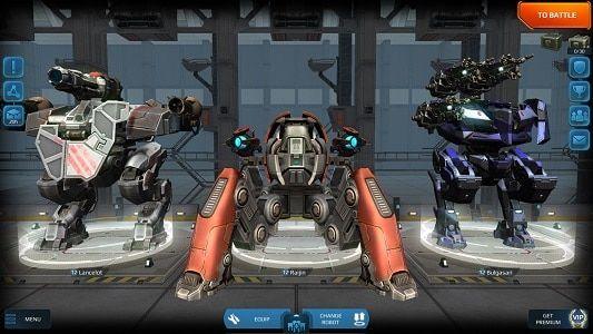 War Robot Mod Apk Download 2020 Unlimited Gold Inactive Bot Sb Mobile Mag Battle Robots Robot War