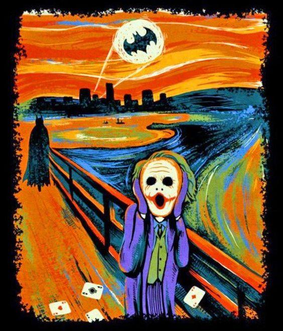 Batman scream. Best picture ever!
