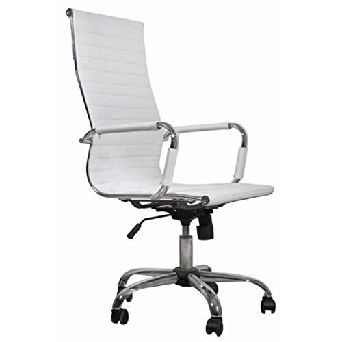 Home Office Chair With Armrest Artificial Leather Black White Leather Office Chair Leather Office Chair Office Chair
