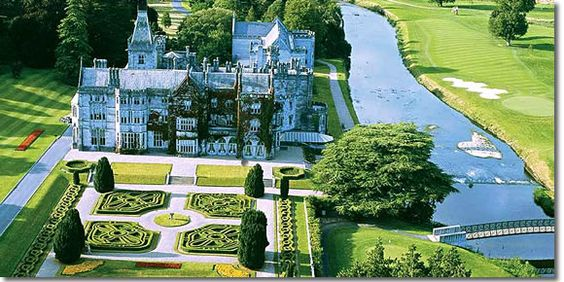 Several Impressive Irish Castles From The Suburbs Of