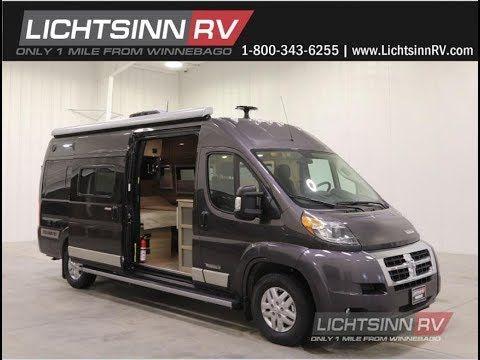 Learn More About Winnebago Travato Motor Homes From Lichtsinn Rv