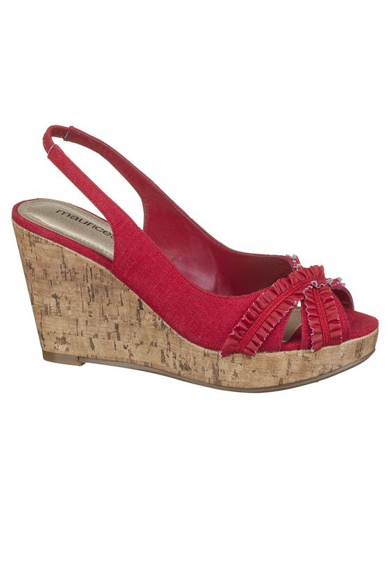 Ava Ruffle Slingback Wedges - love these and they're only $29