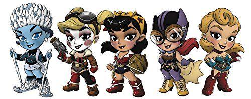 "New DC Superheroes Series 2 ~  Lil Bombshells 2.5/""Inch Figures"