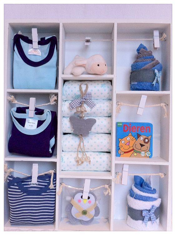 letterbak gevuld met babyartikelen kraamfeest en op zoek naar een uniek cadeau kraamkado. Black Bedroom Furniture Sets. Home Design Ideas