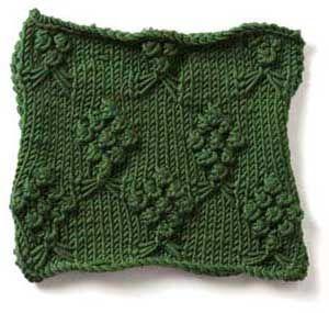 Free Knitting Stitch Gallery : Stitch Gallery - Bouquets Yarn Free Knitting Patterns Crochet Patterns ...
