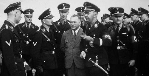 Der Reichsfuhrer-ϟϟ Heinrich Himmler 1933