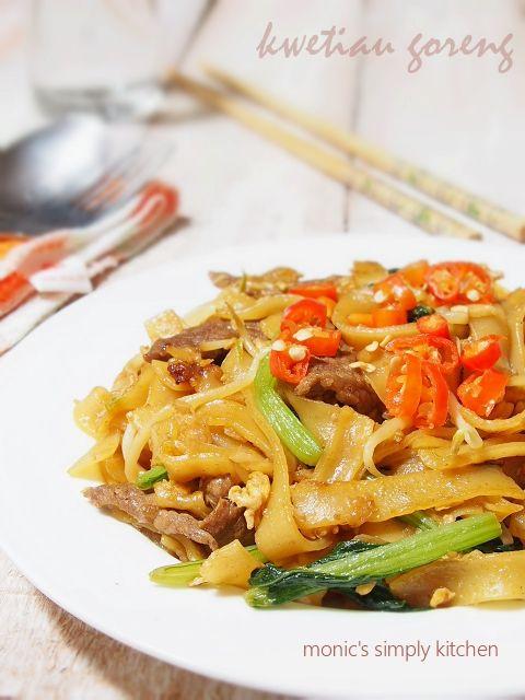 Resep Kwetiau Goreng Daging Sapi Memasak Masakan Resep Makanan