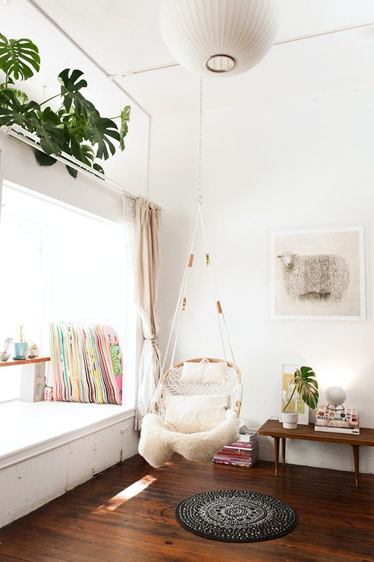 let's swing - a round up of great swing chairs / sfgirlbybay