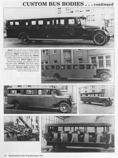 SIA Flashback – Custom Bus Bodies: How They Got to S | Hemmings Daily