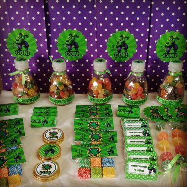 Decoracion para fiestas infantiles de hulk buscar con for Decoracion de pared para fiestas infantiles