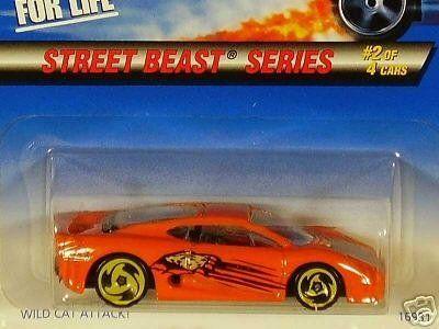 Mattel Hot Wheels 1997 1:64 Scale Street Beast Series Orange Jaguar XJ220 Die Cast Car 2/4 by Hot Wheels. $0.01. Mattel Hot Wheels 1997 1:64 Scale Street Beast Series Orange Jaguar XJ220 Die Cast Car 2/4