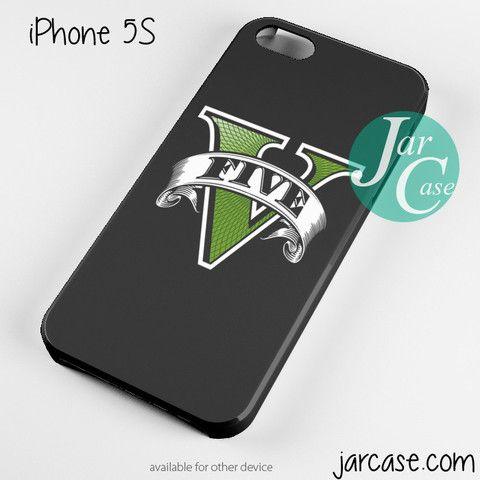 GTA V Logo Phone case for iPhone 4/4s/5/5c/5s/6/6 plus