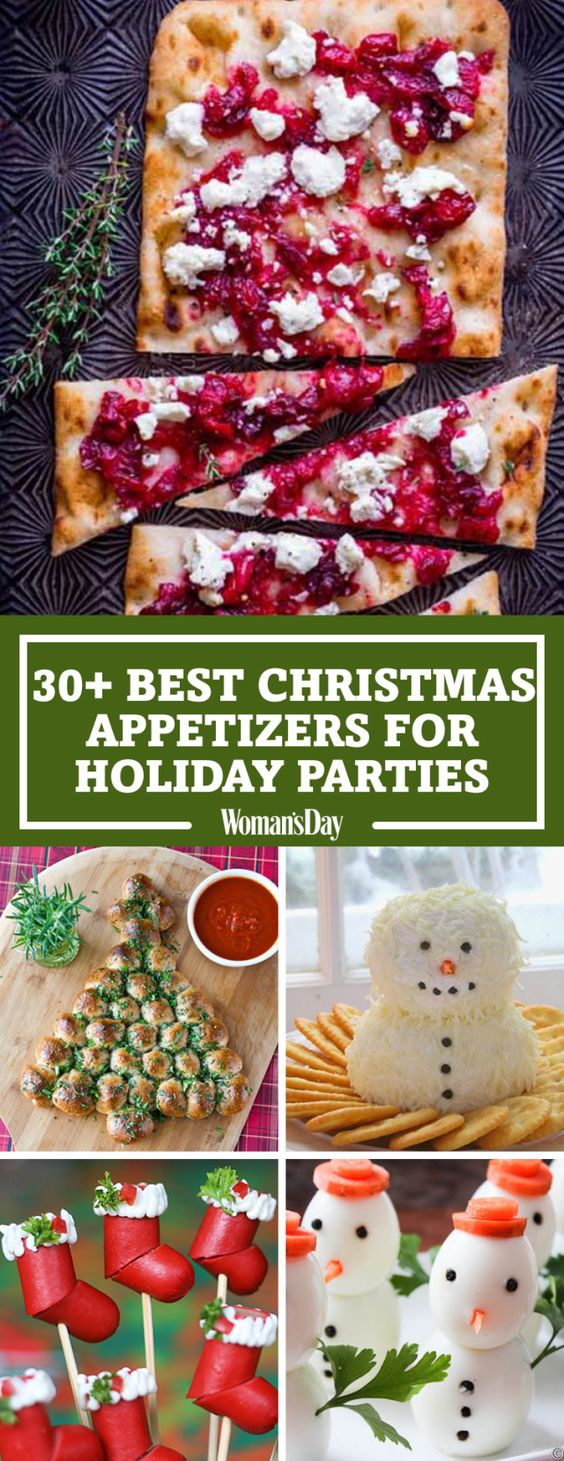 Christmas appetizers, Women day and Appetizer recipes on ...