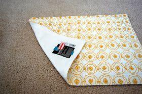 Pillow from {place mat}