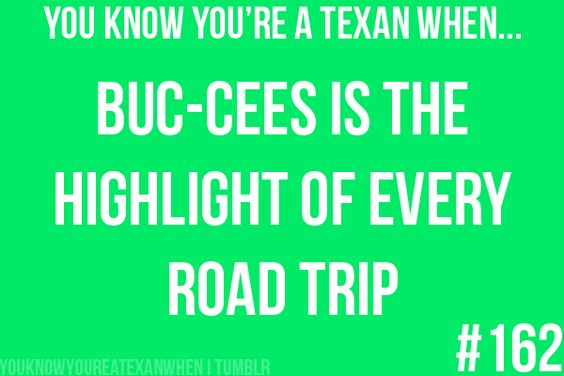 Living in Alabama has taught me that Buc-ees is straight up IMPOSSIBLE to explain to non-Texans.