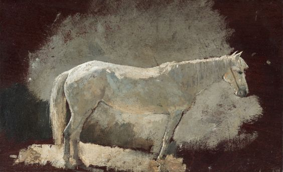 White Mare, c. 1868 Winslow Homer (American, 1836-1910)