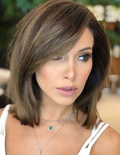 Elegant Short Fine Hairstyles 2019 That Are Simply Gorgeous Trendy Hairstyles Medium Short Hair Medium Length Hair Styles Short Hairstyles For Thick Hair