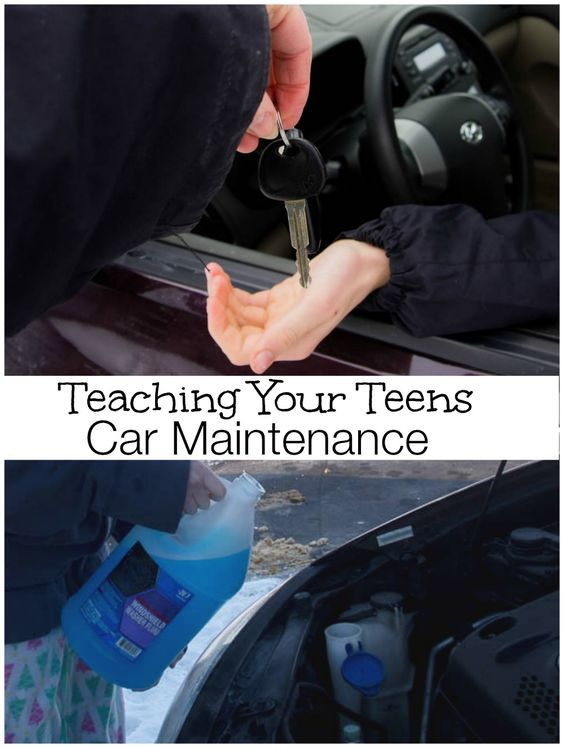 Teaching your teens car maintenance - five important things your teens should know before you hand them the keys and let them drive off! #DropShopAndOil #ad