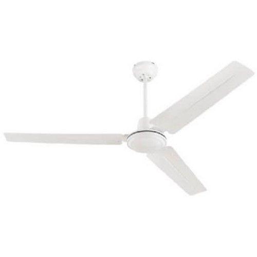 78127 56 In Industrial White Finish Ceiling Fan As Shown Ceiling Fan Modern Ceiling Fan Industrial Ceiling Fan