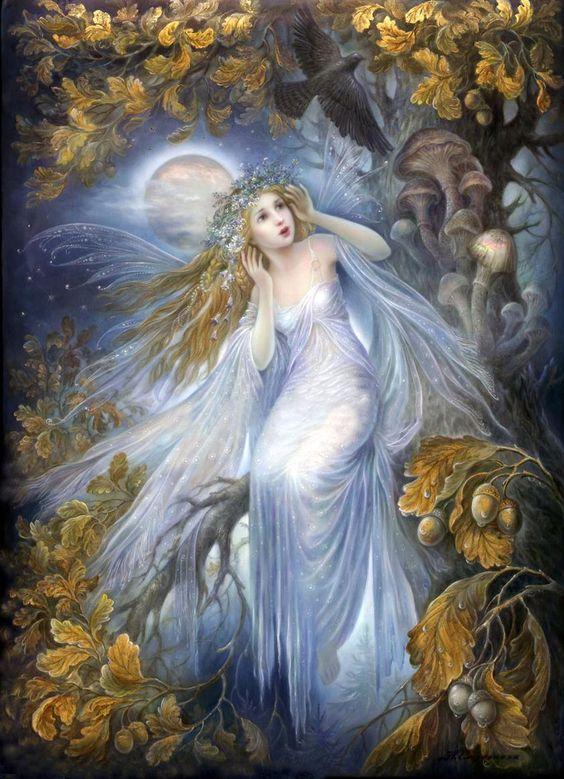 Il mondo di Mary Antony: Gli angeli di Nadia Strelkina