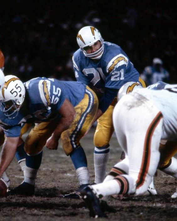 San Diego Chargers Images: John Hadl, San Diego Chargers
