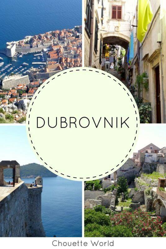 Dubrovnik La Magnifique Blog Voyage Chouette World Visiter Dubrovnik Dubrovnik Visiter Croatie
