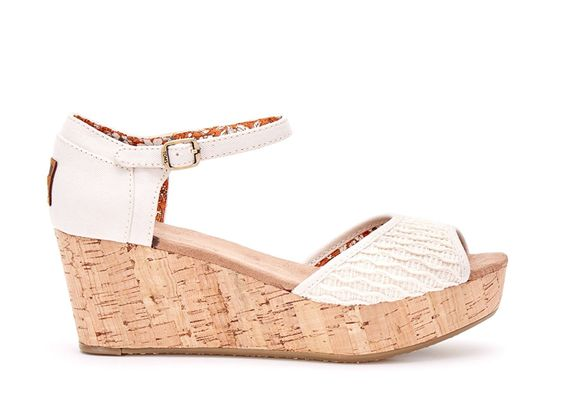 Toms Women's Platform Wedge Casual Shoe * Want to know more, click on the image.