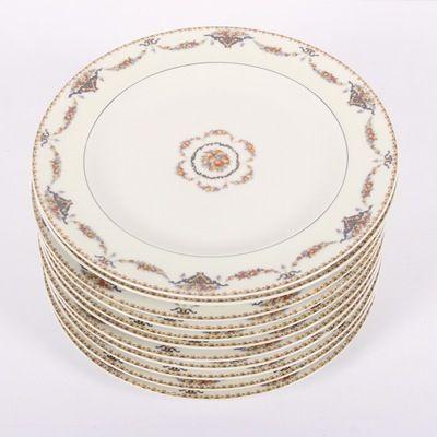 "Theodore Haviland ""Pomona"" Dinner Plates"