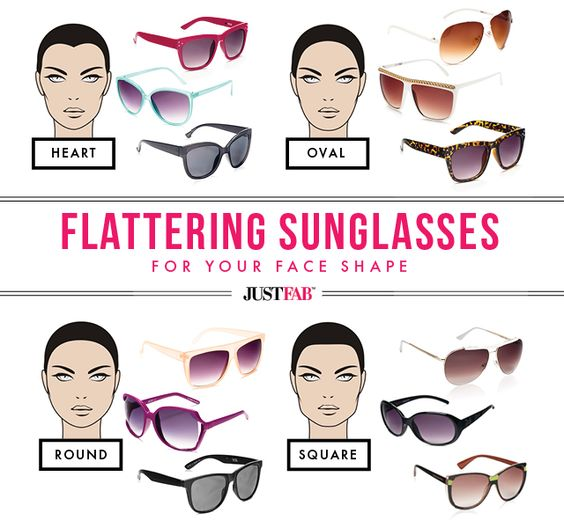 Found: The Most Flattering Sunglasses For Your Face Shape ...