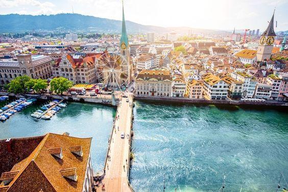 Surprising Zurich A Great Switzerland Destination Zurich Drohne Schweiz Schwitzerland See Haus Aussicht Zurich Schweiz Und Stadt